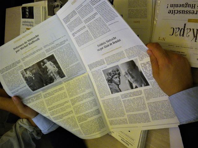 Frédéric Nietzsche vu par Alain de Benoist, Raskar kapac n°7 en vente sur Krisis Diffusion