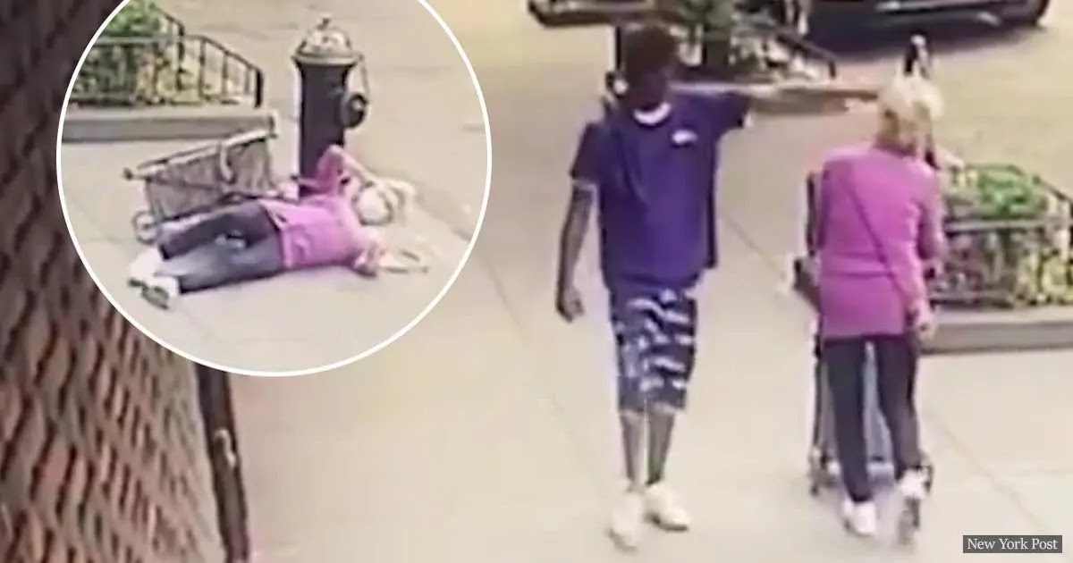 VIDEO: Police Arrest Man Who Pushed A 92 Year-Old Woman To The Ground In An Unprovoked Attack In New York