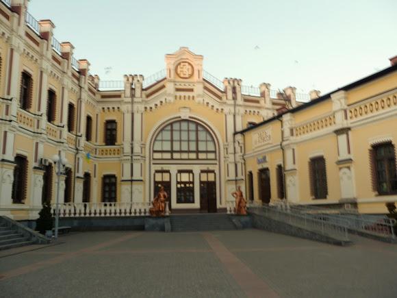 Казатин. Винницкая область. Железнодорожный вокзал. Памятник архитектуры. 1899 г.