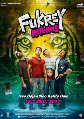 Fukrey Returns 2017 HDRip 720p Hindi 1GB