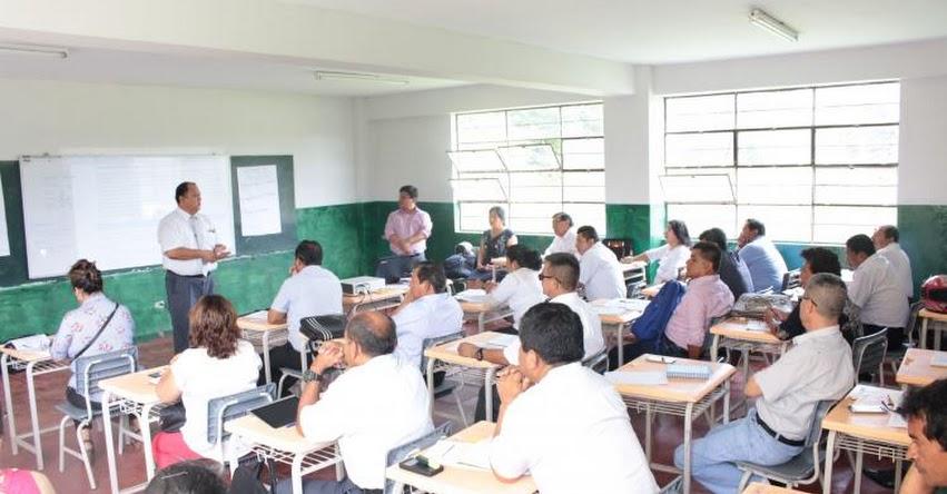 UGEL Chulucanas capacita directivos y docentes para una mejor gestión escolar