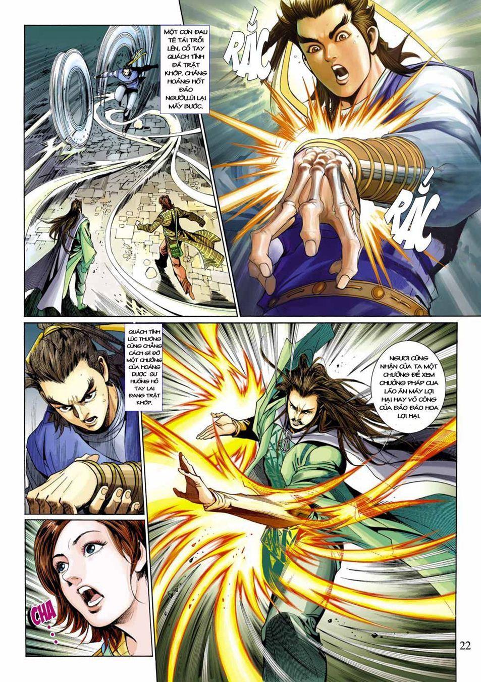 Anh Hùng Xạ Điêu anh hùng xạ đêu chap 33 trang 22