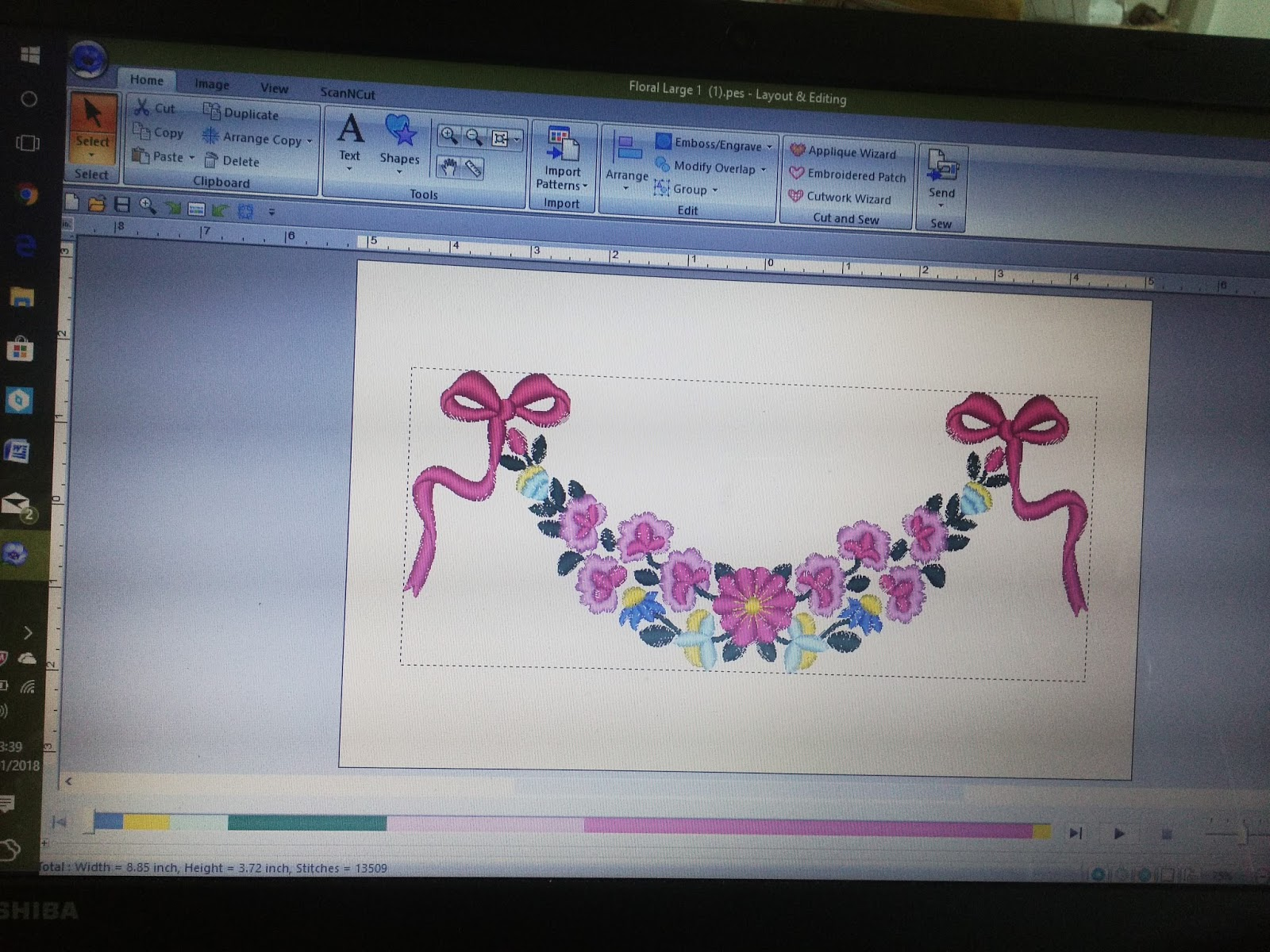 Embroidery Design Software Getting Going Jaycotts