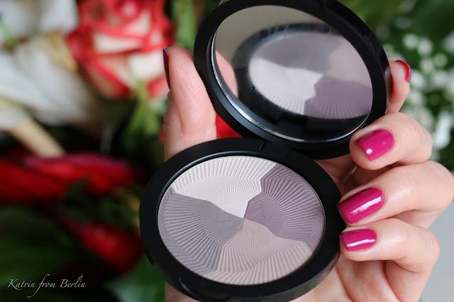 eyeshadows palette cool purple