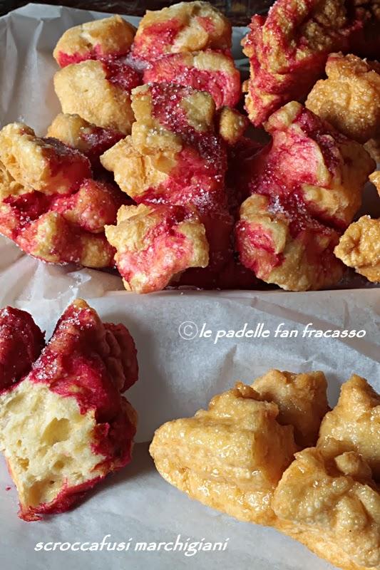 ricetta scroccafusi marchigiani al miele
