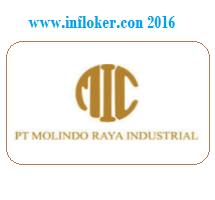 Lowongan Kerja (Malang-Jatim) PT Molindo Raya Industrial Terbaru
