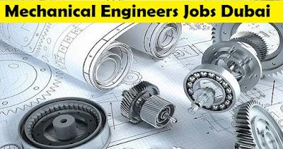 Latest Mechanical Engineers Job in Dubai