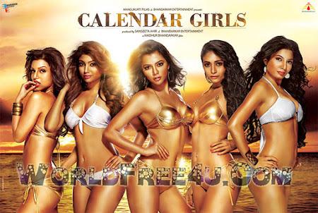 Poster Of Hindi Movie Calendar Girls 2015 Full HD Movie Free Download 720P Watch Online