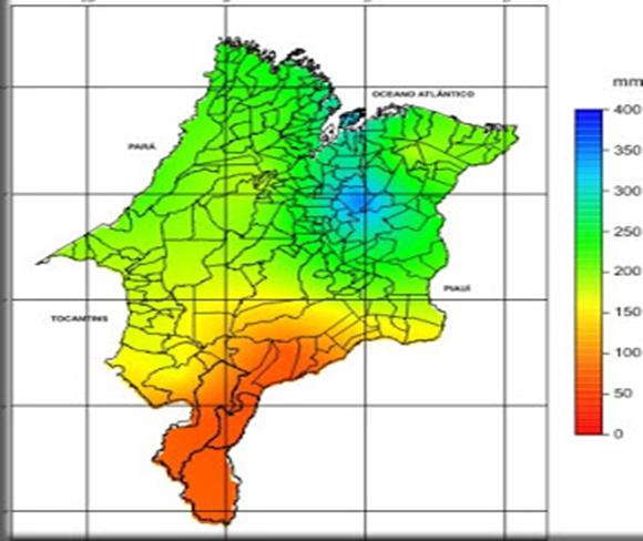 Mapa clima de Tocantins