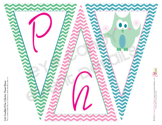 owl birthday theme, winter birthday, chevron, kids birthday