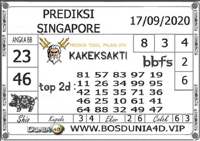 Kode syair Singapore Kamis 17 September 2020 144