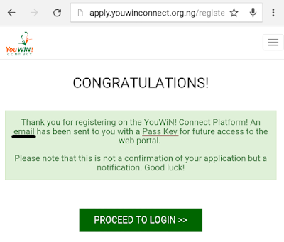 YouWIN! Connect Registration Guideline Image 1