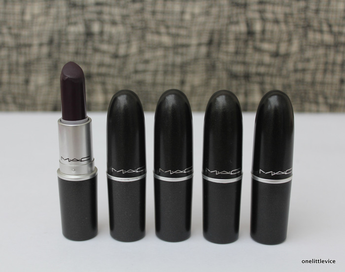 One Little Vice Beauty Blog: Mac Cyber Lipstick Review