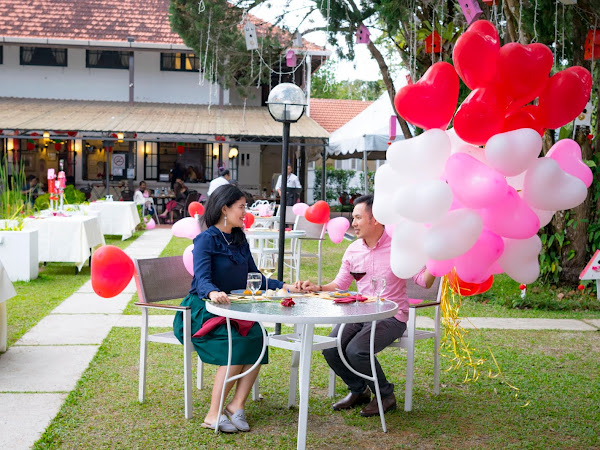 Valentine Day Celebration at David Brown's Restaurant @ Penang Hill