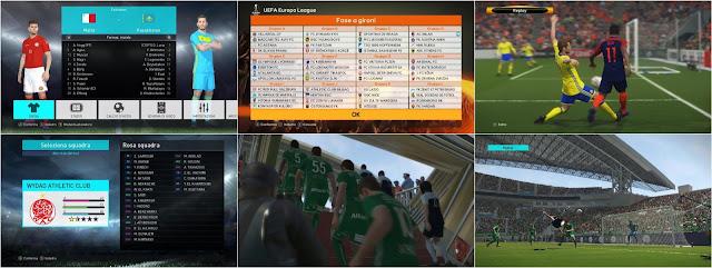 PES 2018 UEFA Edition Patch V3 + FIX