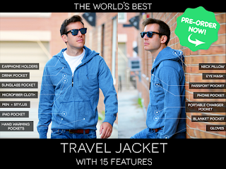 Baubax the World's Best Travel Jacket
