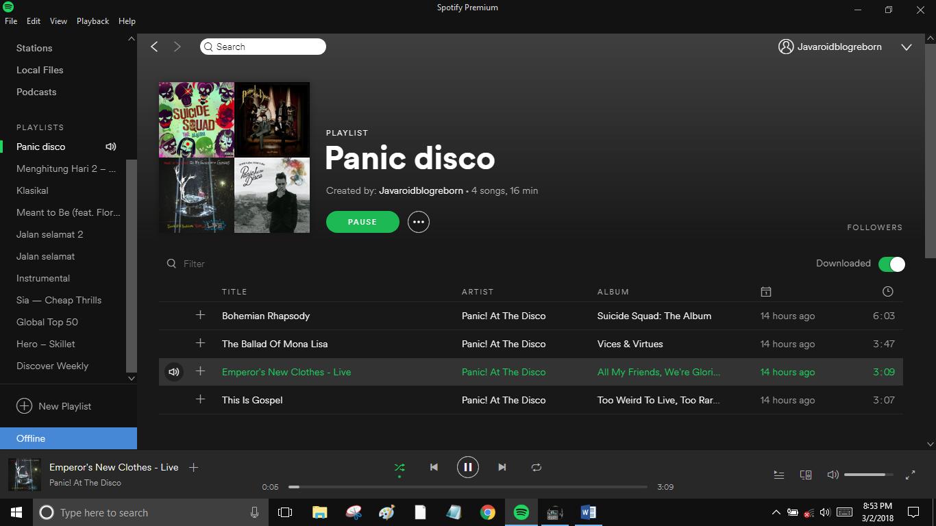 Solusi Lagu Hasil Download Di Spotify Mendadak Hilang Otakdewasa Id Cara Terbaru Internetan