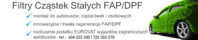 Filtr Cząstek Stałych FAP/DPF Euro-Vat Consulting