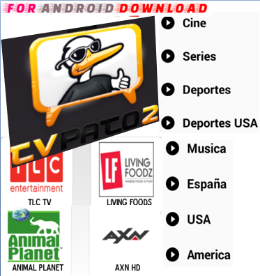 Download Android Free PATOTV2 Apk -Watch Free Live Cable Tv Channel-Android Update LiveTV Apk  Android APK Premium Cable Tv,Sports Channel,Movies Channel On Android