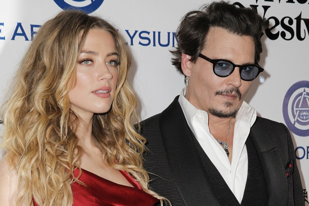 Most Shocking Celebrity Break-ups in 2016 Johnny Depp and Amber Heard