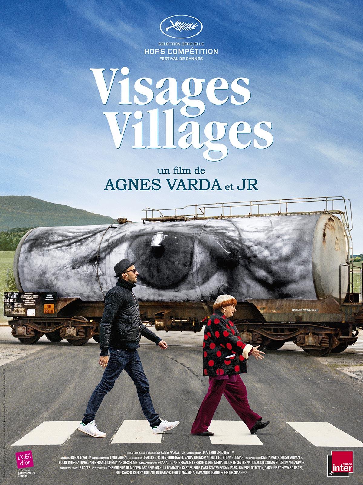 """CARAS Y LUGARES (""""Visages villages"""")"""