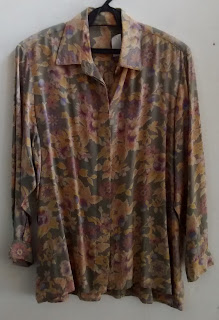 camisa floral tam M