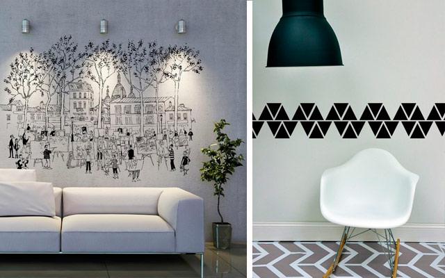 Marzua dise o gr fico en decoraci n for Disenos para pintar paredes de habitaciones