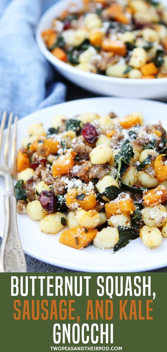 Butternut Squash, Sаuѕаgе, аnd Kale Gnocchi  #masonjar #healthy #recipes #greatist #vegetarian #breakfast #brunch  #legumes #chicken #casseroles #tortilla #homemade #popularrcipes #poultry #delicious #pastafoodrecipes  #Easy #Spices #ChopSuey #Soup #Classic #gingerbread #ginger #cake #classic #baking #dessert #recipes #christmas #dessertrecipes #Vegetarian #Food #Fish #Dessert #Lunch #Dinner #SnackRecipes #BeefRecipes #DrinkRecipes #CookbookRecipesEasy #HealthyRecipes #AllRecipes #ChickenRecipes #CookiesRecipes