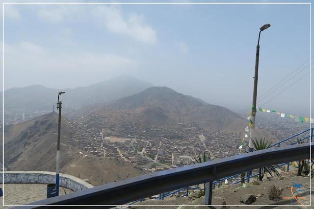 Cerro de San Cristóbal, em Lima