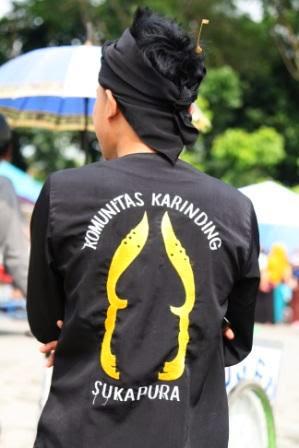 Komunitas seni Karinding Sukapura Tasikmalaya.