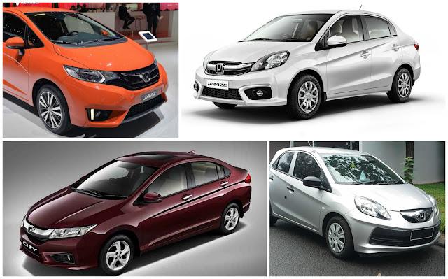 Honda Cars India sales