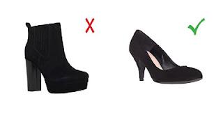 Обувь для женщин с фигурой грушей