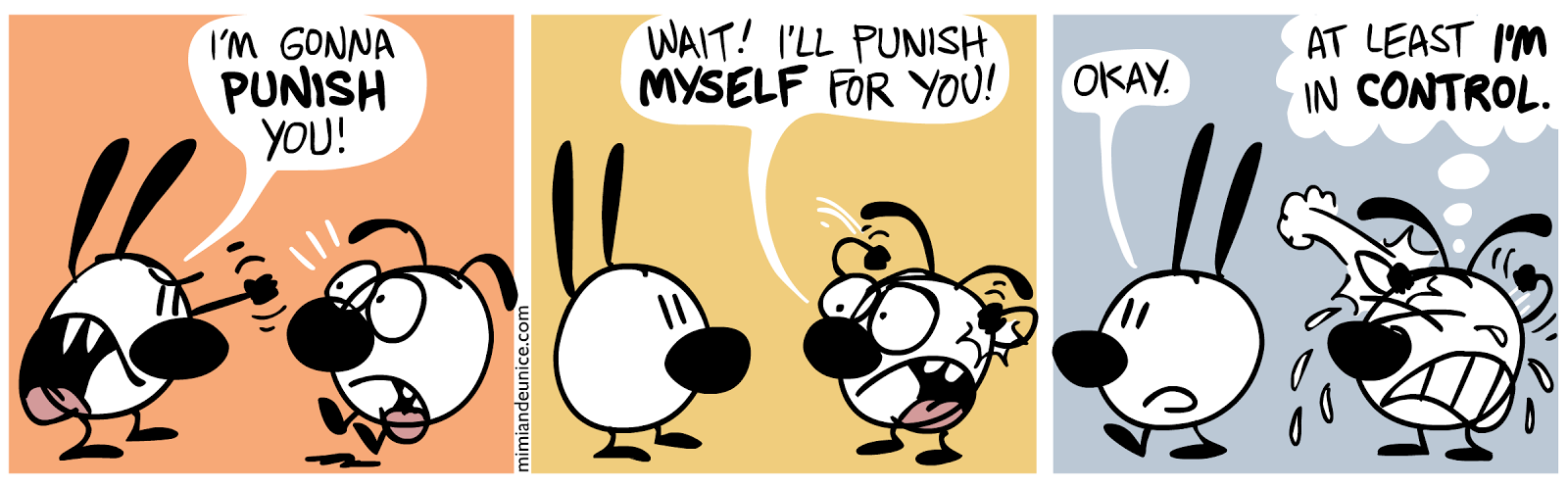 Mimi And Eunice Self-Punishment comic
