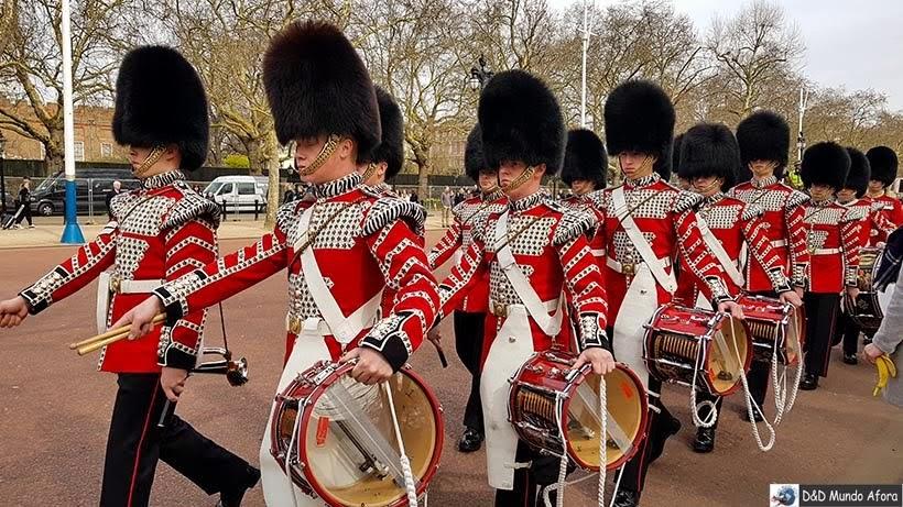 Diário de Bordo - 5 dias em Londres - Guarda Real