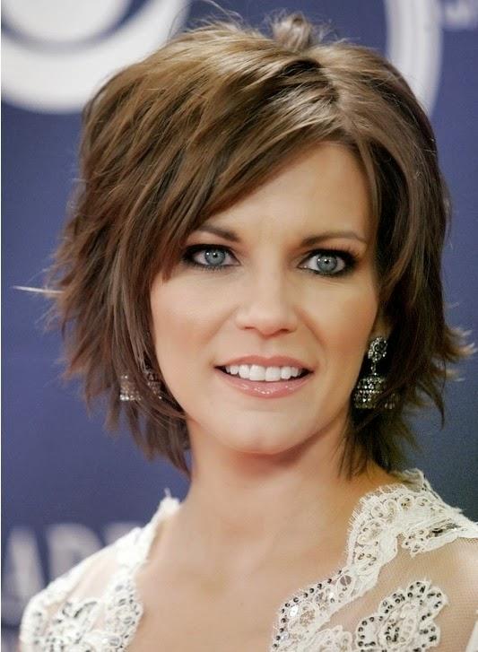 Brilliant idea short bangs medium length layered hairstyles