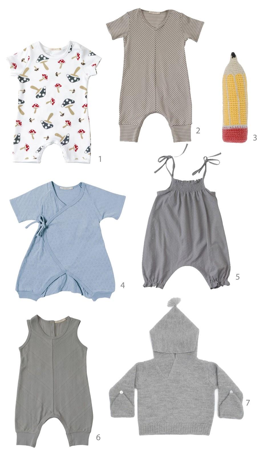 בגדים אורגניים לילדים
