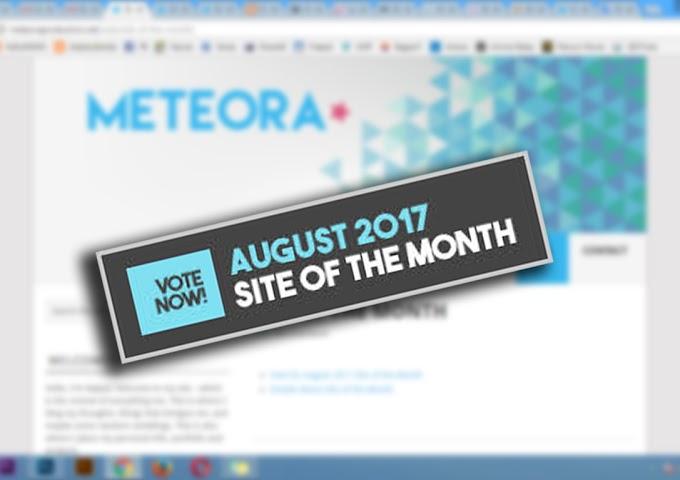 Site Of The Month daripada Meteoraproduction