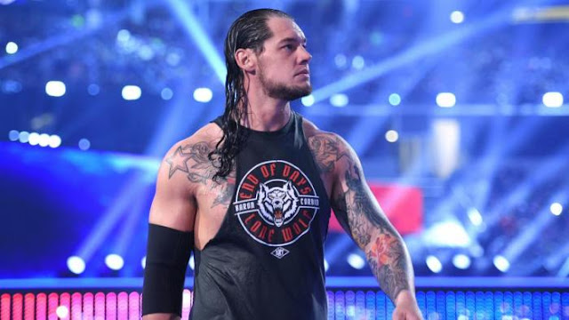 Baron Corbin Andre the Giant Memorial Battle Royal WrestleMania 32 Entrance