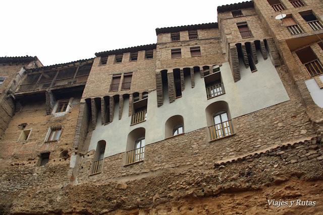Casasa colgadas de Tarazona