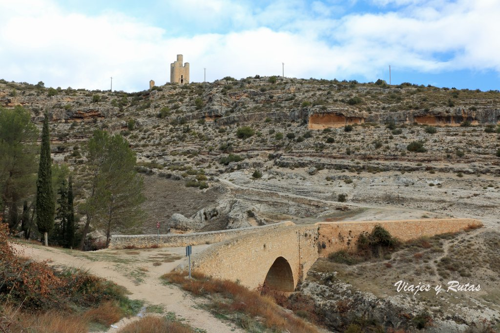 Puente del henchidero, Alarcón