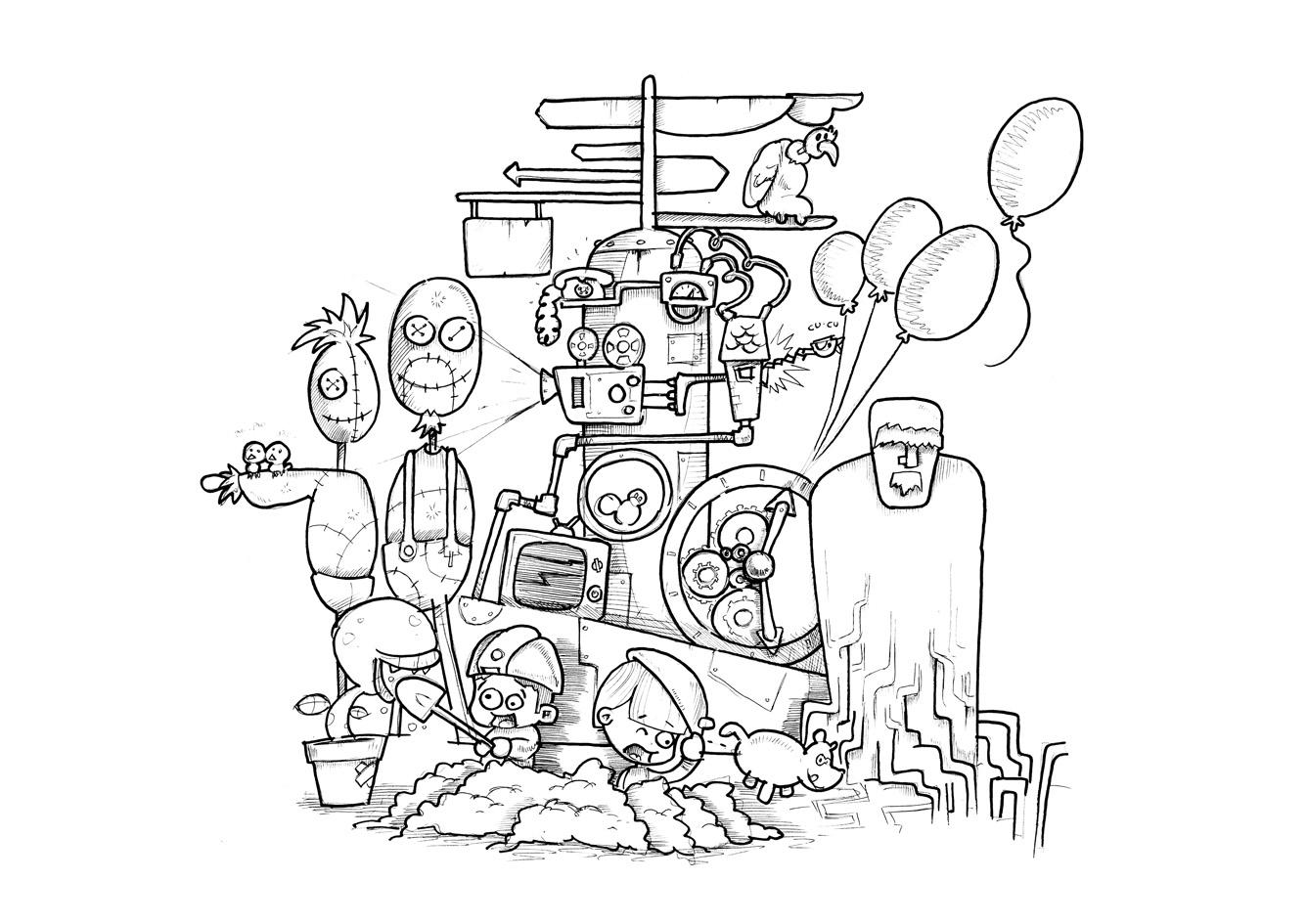 Fiesta De Las Fallas Para Colorear Dibujos De Falleras Infantiles