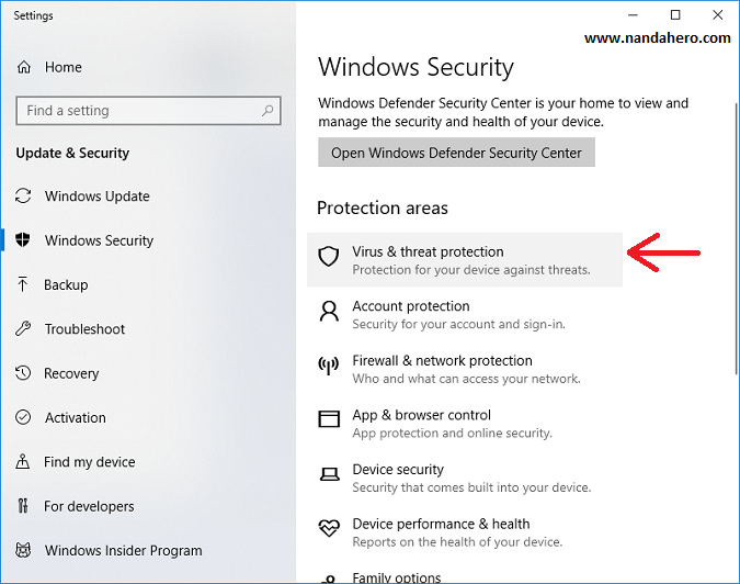 cara mematikan windows defender permanen