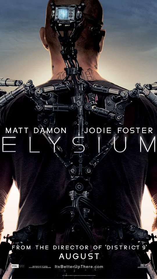 Elysium Teaser Poster   Galaxy Note HD Wallpaper