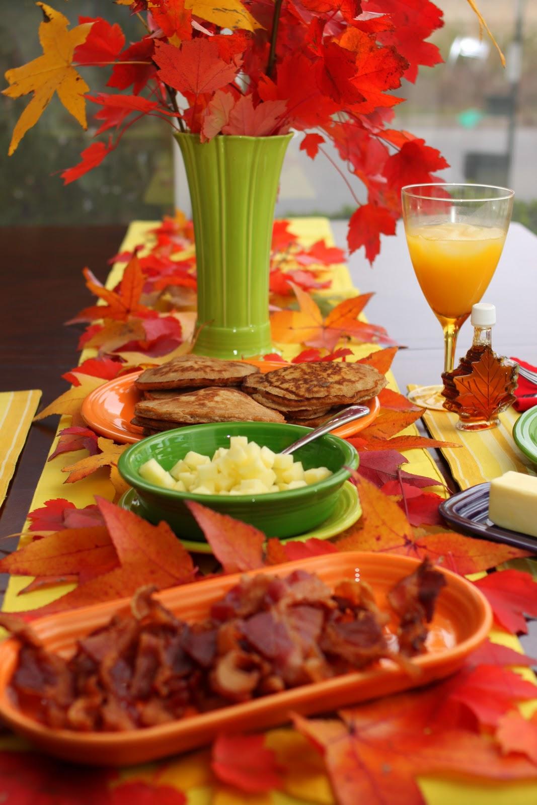 doodah Sunday Breakfast Caramel Apple Pancakes