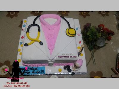 Kue Tart Ulang Tahun buat Dokter Andi