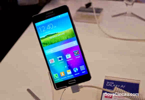 Galaxy A7, Samsung's Thinnest Smartphone Ever!