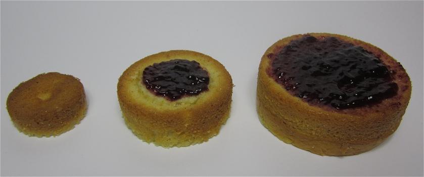 Mini-Vanilletörtchen mit Marmelade Anleitung 2