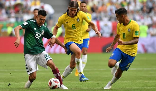 Brasil vs Meksiko - 16 Besar Piala Dunia 2018