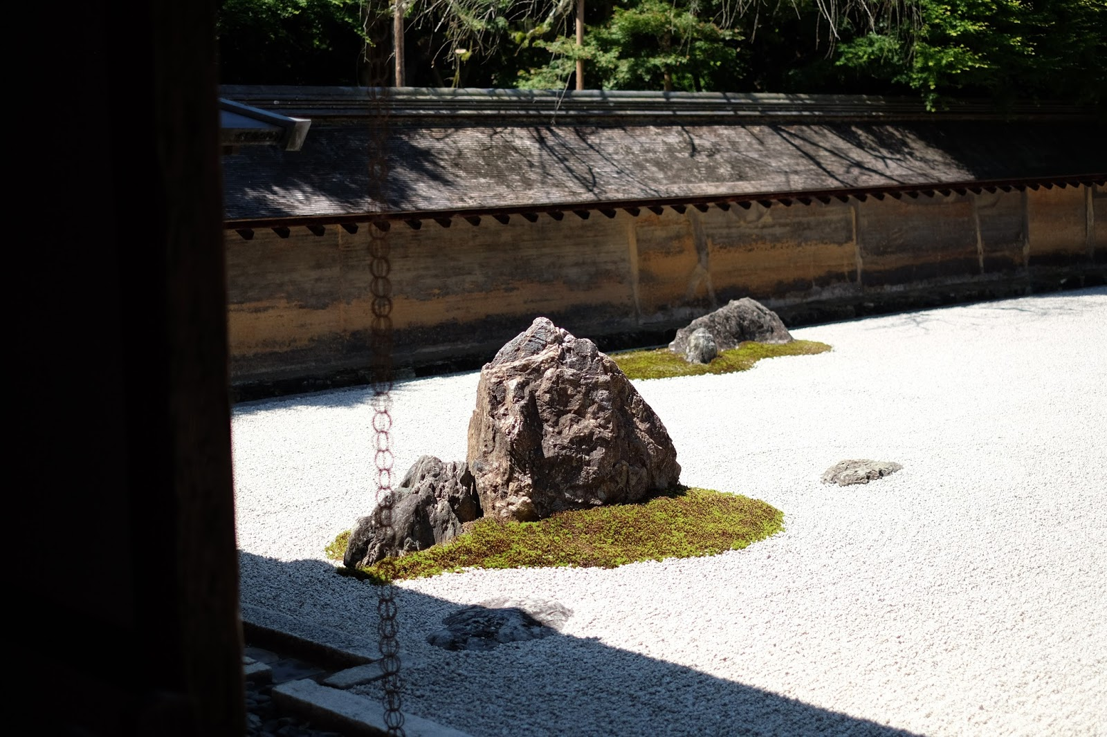 ryoan-ji kyoto japan rock garden