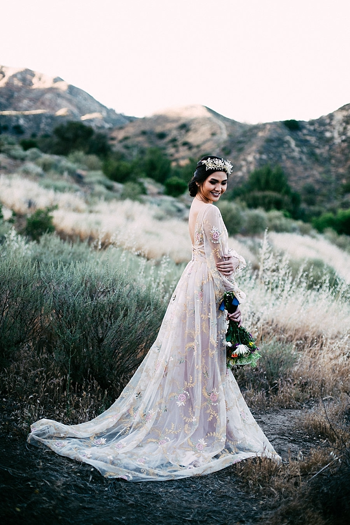 Intimate Moroccan Inspired Mountain Wedding Southern California